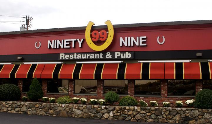 An image of Ninety Nine Restaurant & Pub.