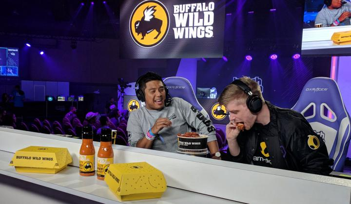 Buffalo Wild Wings inked its first esports team partnership.