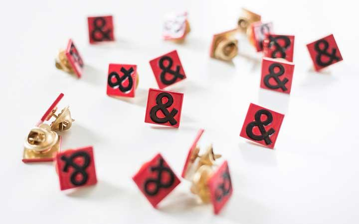 Hedley & Bennett Ampersand Pin