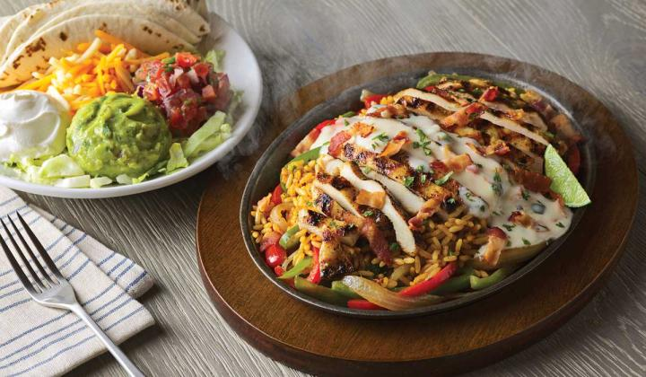 Applebee's Loaded Fajitas