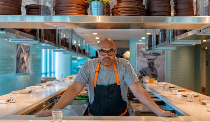 Venezuela chef Carlos Garcia.