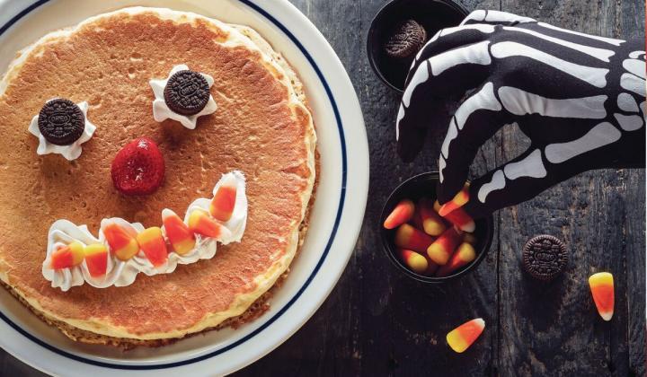 IHOP Brings Back Scary Face Pancakes