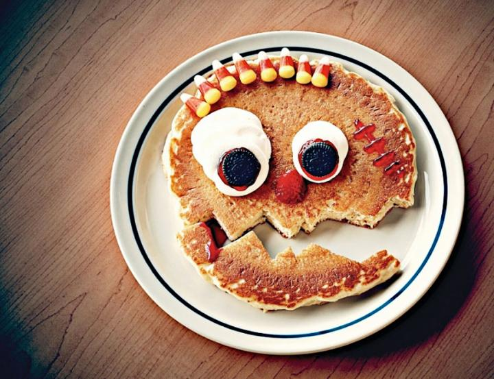 IHOP Giving Away Scary Face Pancake on