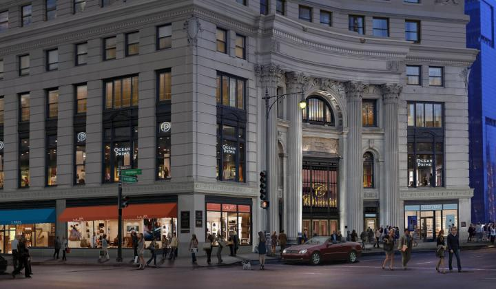 A rendering of Ocean Prime's upcoming Chicago location, which is designed by Mark Knauer of Knauer, Inc., and is slated to be 12,350 square feet