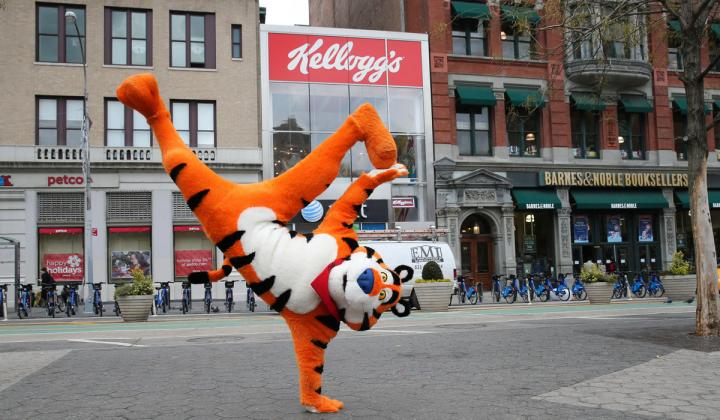 Kellogg's ready to debut NYC cafe.