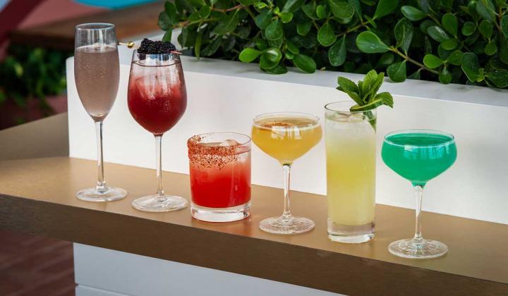 Sparrow Patio Cocktails