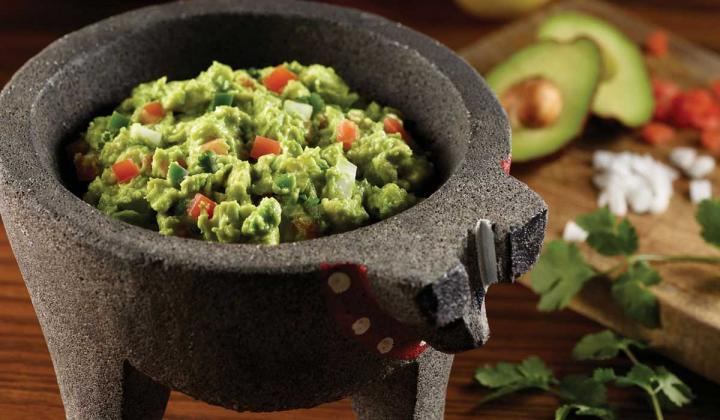 Dish of guacamole from Uncle Julio's
